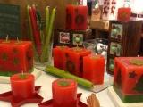 Коледни свещи